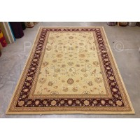 Noble Art Traditional Persian Agra Design Rug - Beige Cream Red 6529/191