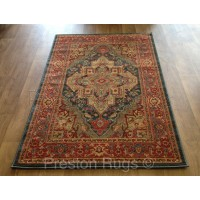 Ziegler Traditional Persian Design Rug - 8788 Dark Blue
