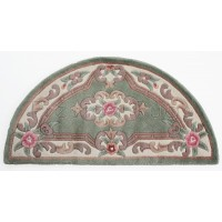 "Aubusson Panel Rug  - Green-Half Moon 67 x 127 cm (2'2"" x 4'2"")"