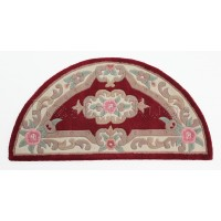 "Aubusson Panel Rug  - Red-Half Moon 67 x 127 cm (2'2"" x 4'2"")"