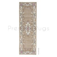 "Aubusson Panel Rug  - Fawn-Runner 67 x 210 cm (2'2"" x 6'10"")"