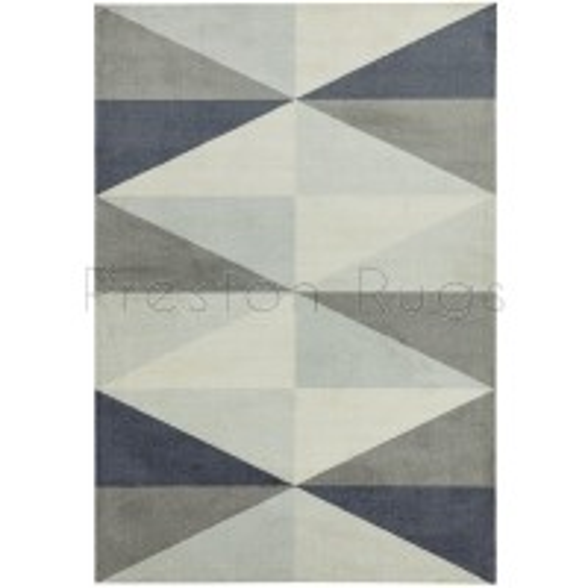 Riley Geometric Rug - RL05 Grey