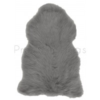 British Sheepskin Rug  - Slate Grey