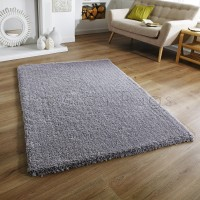 Softness Shaggy Rug - Grey