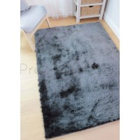 Splendour Shadow Shaggy Rug - Charcoal