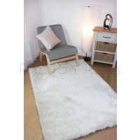 Splendour Shadow Shaggy Rug - Ivory