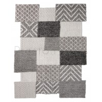 Eclectic Agra Grey Rug