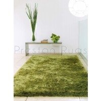 Whisper Shaggy Rug - Apple Green