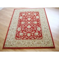 Ziegler Traditional Agra Design Rug - 7709 Red