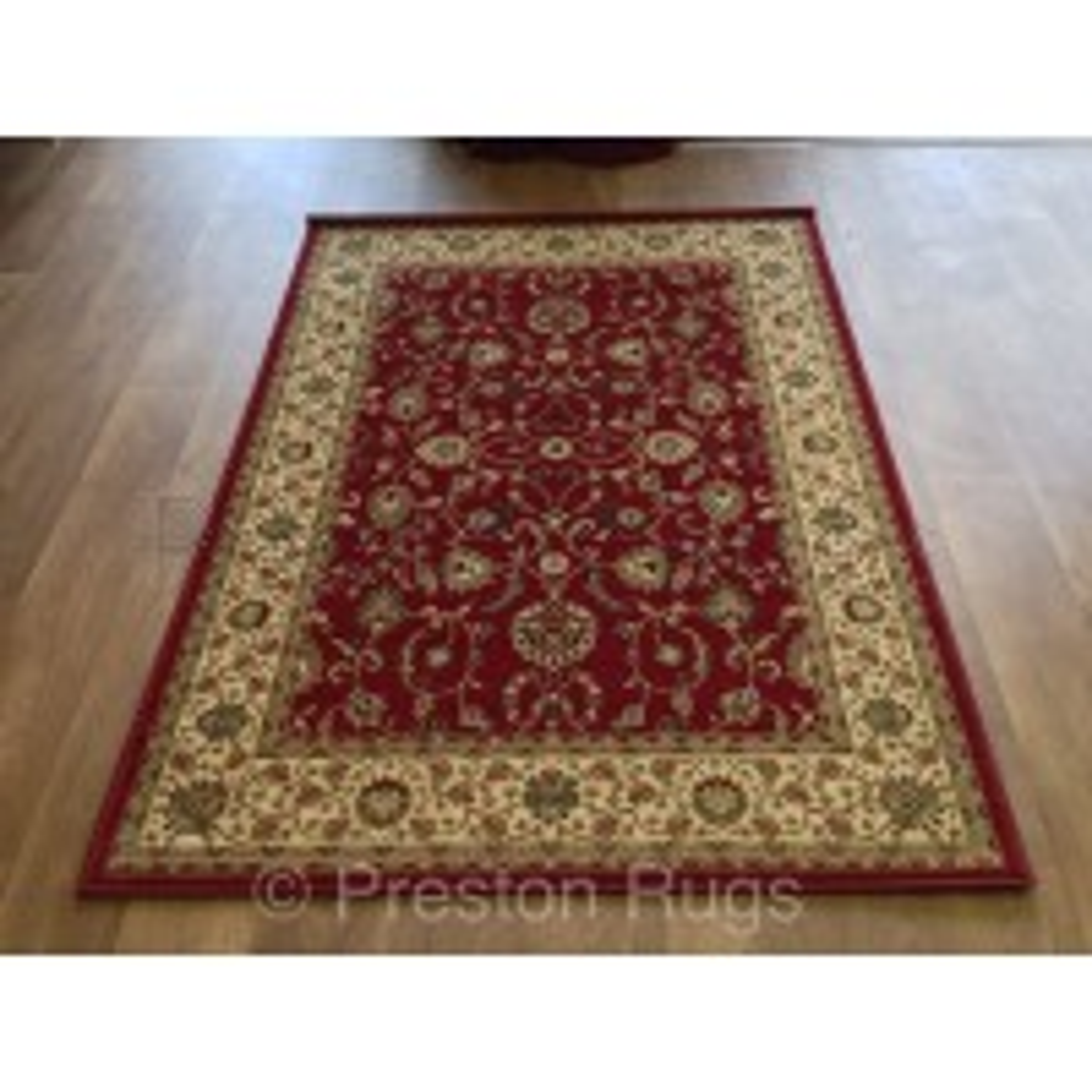 Kendra Traditional Rug - Ispahan Red 137R-200 x 285 cm