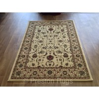 Kendra Traditional Rug - Ispahan Cream 137W-120 x 170 cm