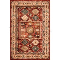 "Kashqai Traditional Persian Design Rug - 4306/300-80 x 150 cm (2'8"" x 5')"