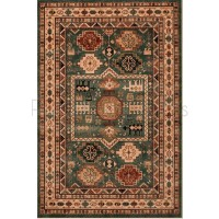 "Kashqai Traditional Persian Design Rug - 4306/400-160 x 240 cm (5'3"" x 8')"