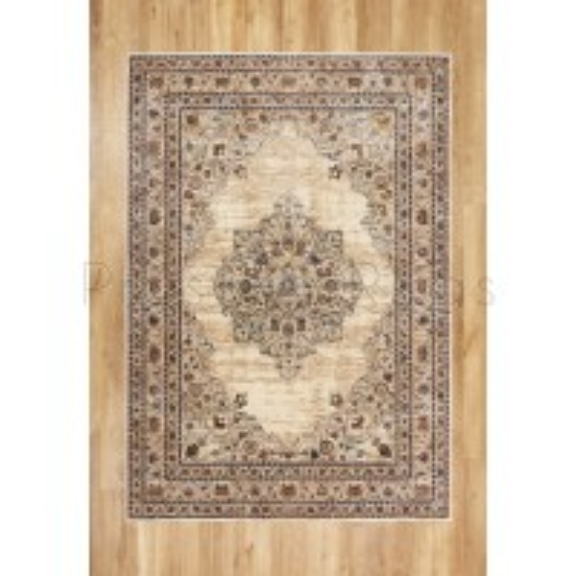 "Alhambra Traditional Rug - 6345c ivory/beige - Size 80 x 150 cm (2'8"" x 5')"