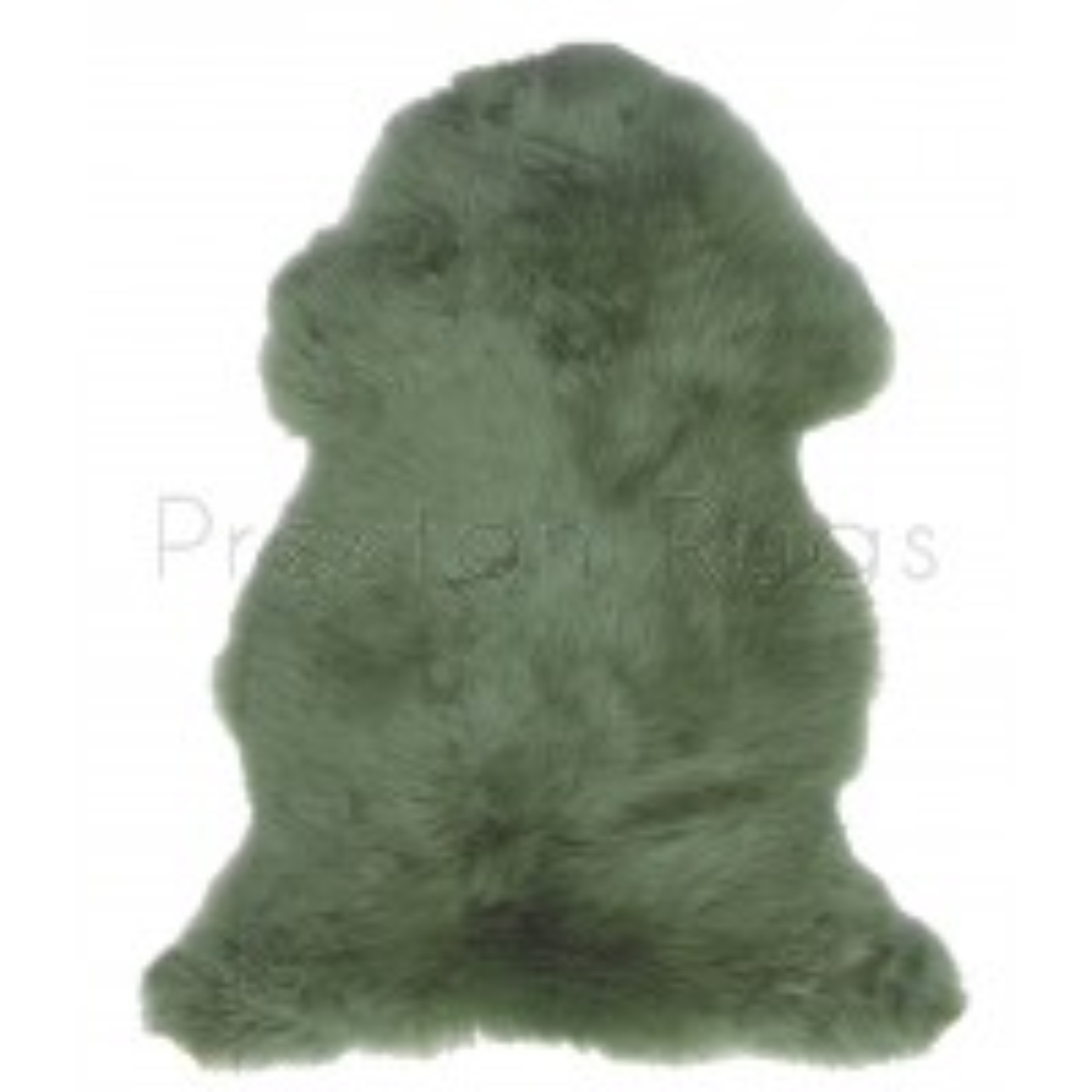 British Sheepskin Rug  - Jade Green