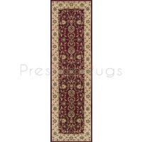 Kendra Traditional Rug - Ispahan Red 137R-Runner 68 x 235 cm