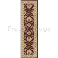 Kendra Traditional Rug - Ispahan Red 45M-Runner 68 x 235 cm