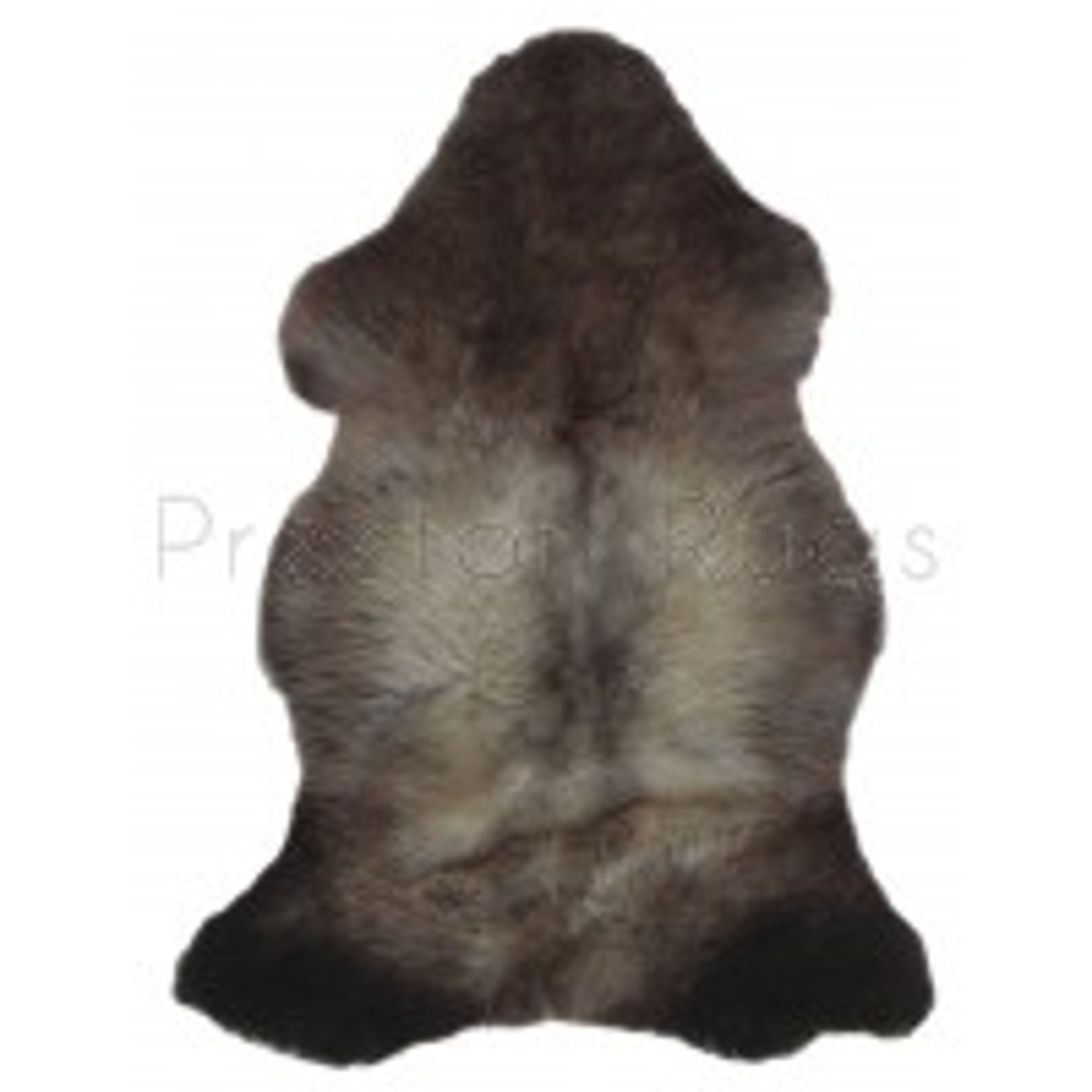 British Sheepskin Rug  - Natural Pretty