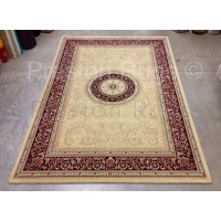 """Noble Art Traditional Persian Style Rug - Beige Cream Red 6572/191-240 x 340 cm (7'10"""" x 11'2"""")"""