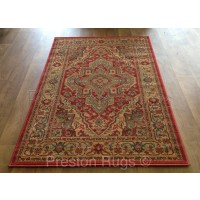 "Ziegler Traditional Persian Design Rug - 8788 Red-280 x 380 cm (9'2"" x 12'5"")"