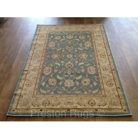 Ziegler Traditional Agra Design Rug - 7709 Blue Teal