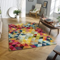 "Piccadilly Rug -  526 X Multicoloured - Size 80 x 150 cm (2'8"" x 5')"
