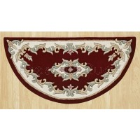 Royal Traditional Wool Rug - Red-Half Moon 67 x 137 cm