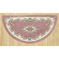 Royal Traditional Wool Rug - Rose-Half Moon 67 x 137 cm