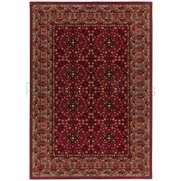 "Viscount Traditional Rug - V61 Red - Size 200 x 290 cm (6'7"" x 9'6"")"