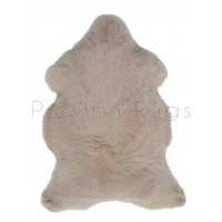 British Sheepskin Rug  - Warm Beige-Double Skin