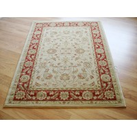 Ziegler Traditional Agra Design Rug - 7709 Cream / Red-Runner 67x230